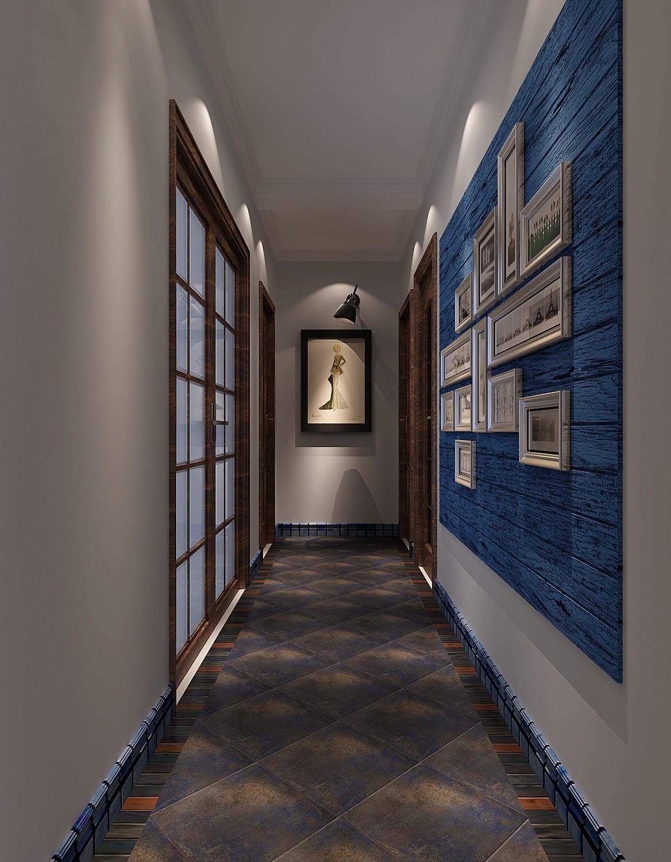 高度国际 中景江山赋 北美极简 公寓 玄关图片来自高度国际在高度国际-114平米北美极简风格的分享
