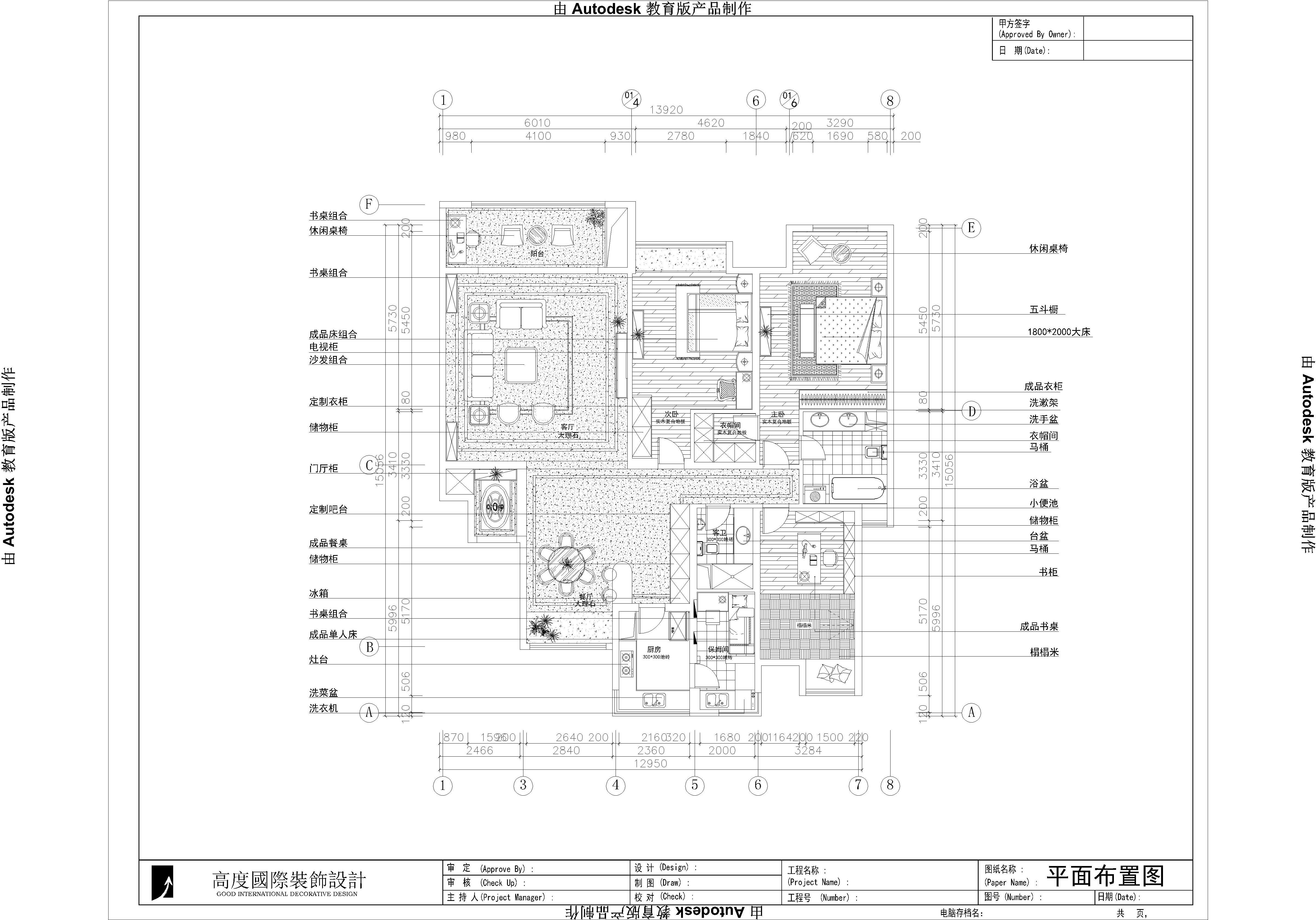 高度国际 御翠尚府 欧式 公寓 户型图图片来自高度国际在高度国际-为中年夫妇量身设计的分享