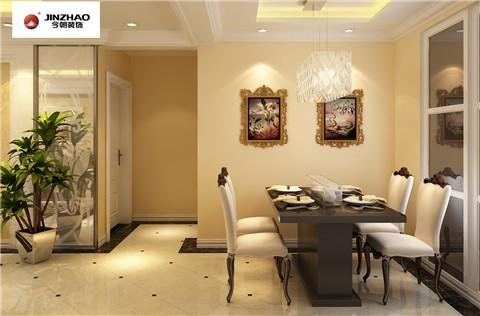 今朝装饰 标杆工程 众美 凤凰台 三居 餐厅图片来自今朝装饰-心情放晴在众美凤凰台的分享