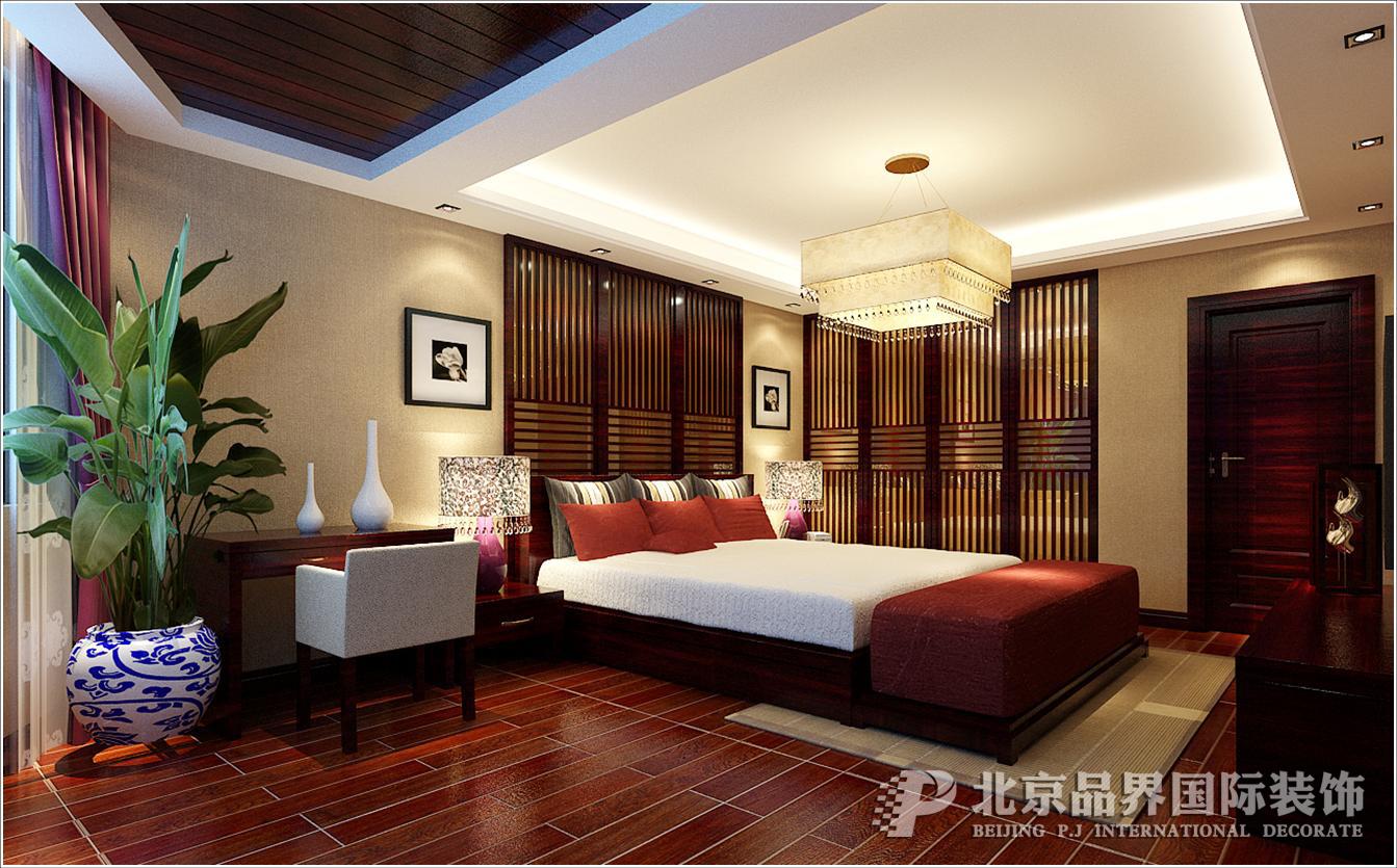 别墅 卧室图片来自石家庄品界国际装饰在金苑世家现代风格实景照片的分享