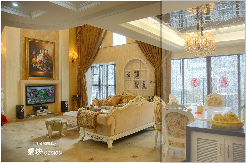 田园 欧式 小资 复式 客厅图片来自用户3227078344在浪漫欧陆风的分享