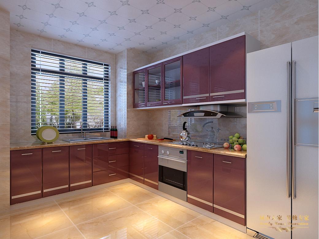 简约 城市人家 做好的家装 设计案例 风格 厨房图片来自太原城市人家装饰在丽泽苑—158设计方案的分享