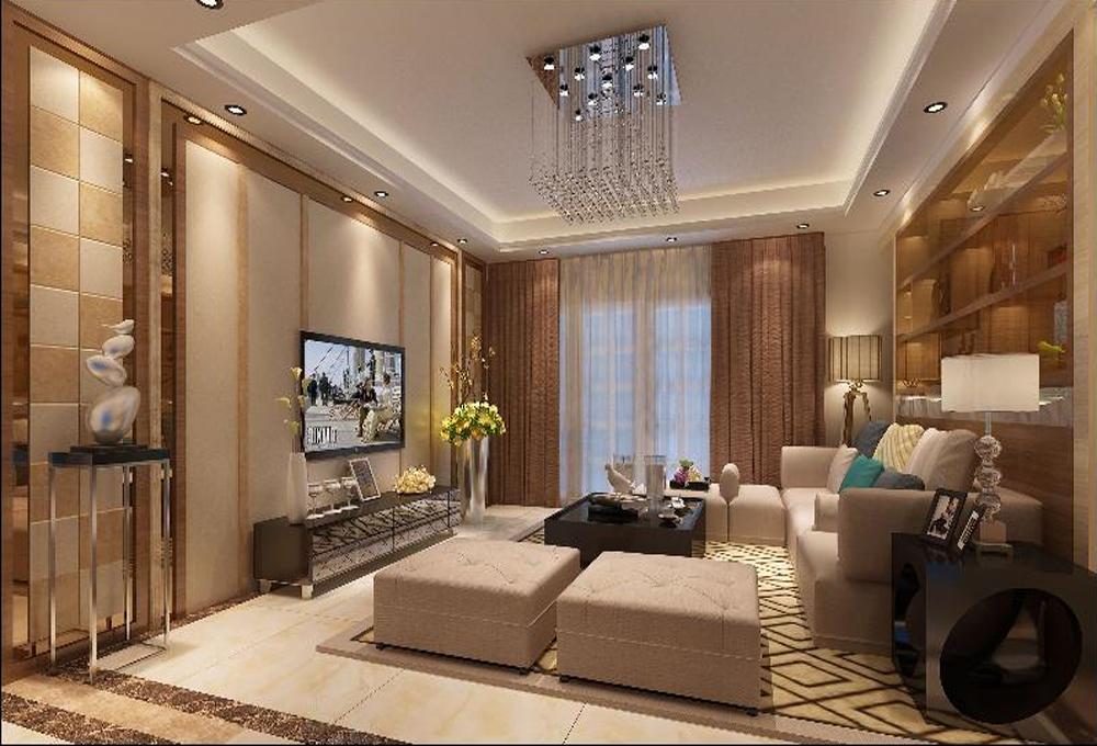 客厅图片来自深圳市浩天装饰在万象新天的分享