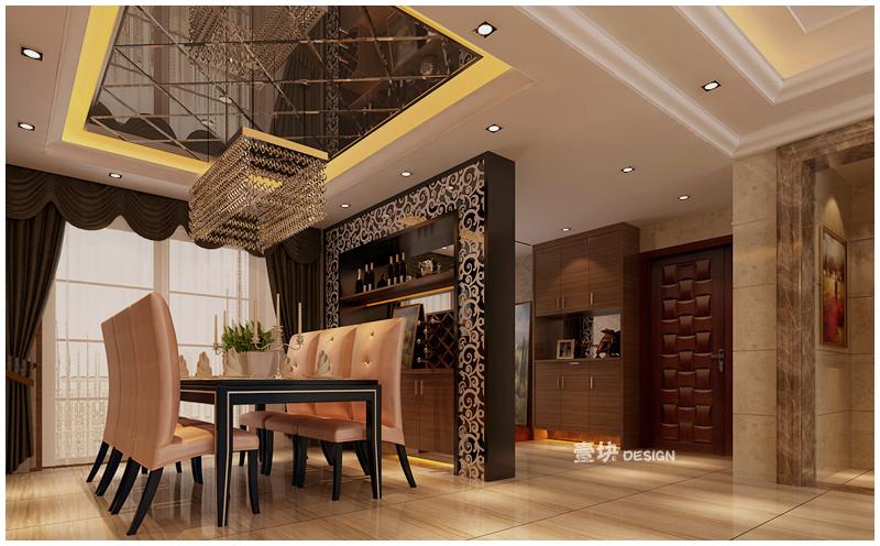 欧式 三居 白领 小资 餐厅图片来自用户3227078344在三湘海尚——品的分享