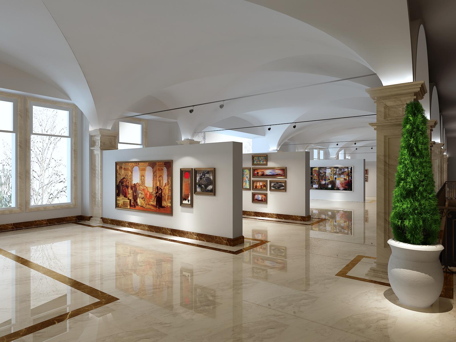 欧式 美术馆 工装 高度国际 其他图片来自凌军在【工装】 美术馆设计的分享