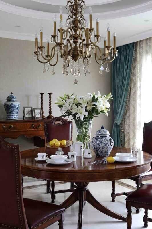 现代 别墅软装 软装配饰 别墅装修 餐厅图片来自尚层别墅装饰在在点滴中发现美的分享