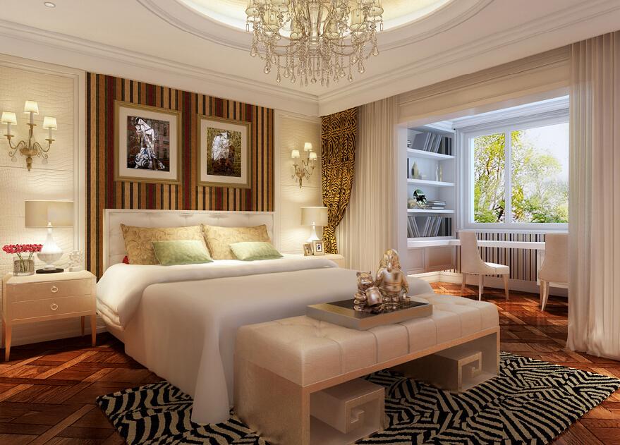 古典主义 现代主义 新古典 别墅 混搭 儿童房 卧室图片来自尚层别墅设计在古典主义与现代主义的和谐碰撞的分享