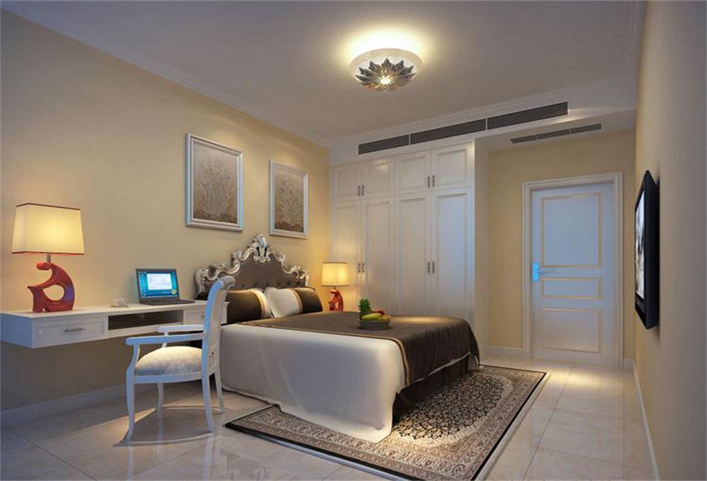 卧室图片来自深圳市浩天装饰在美佳华首誉的分享