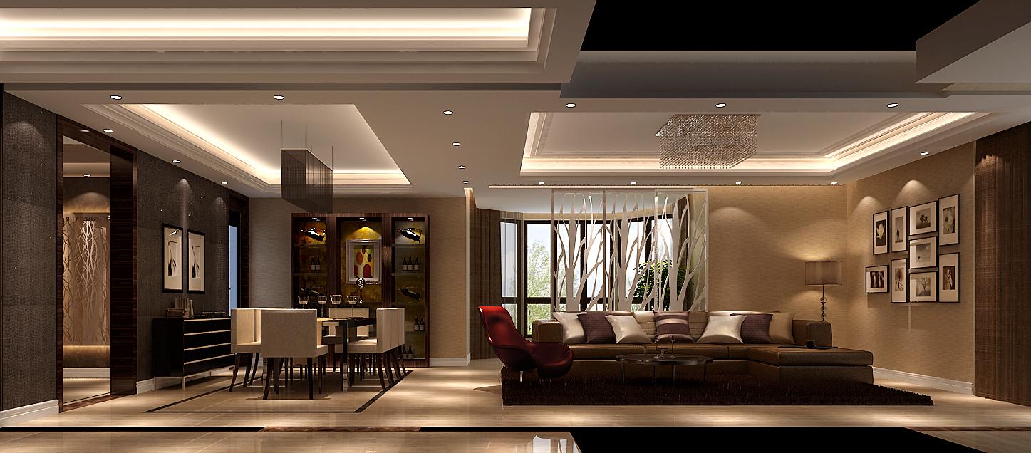 高度国际 御翠尚府 现代风格 公寓 餐厅图片来自高度国际在高度国际-简约不简单的设计的分享