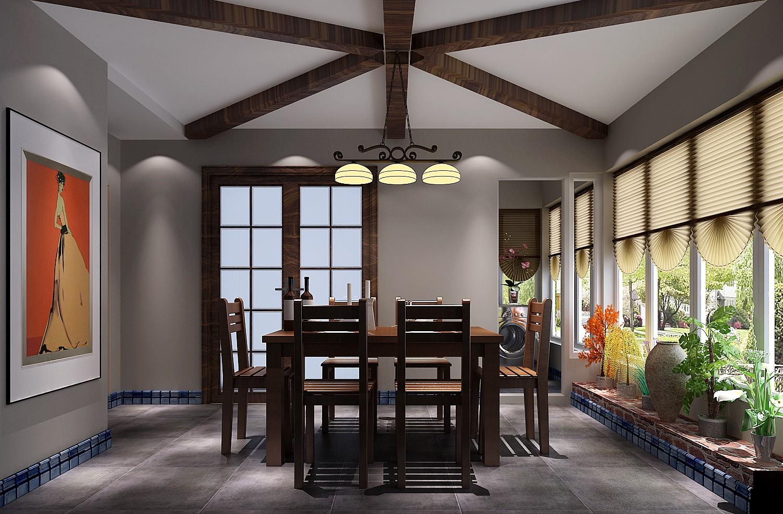 高度国际 中景江山赋 北美极简 公寓 餐厅图片来自高度国际在高度国际-114平米北美极简风格的分享