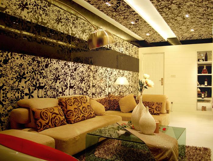 现代 奢华 三居 鑫苑世家 郑州业之峰 80后 小资 白领 客厅图片来自文金春在160平方现代奢华风格装修案例的分享
