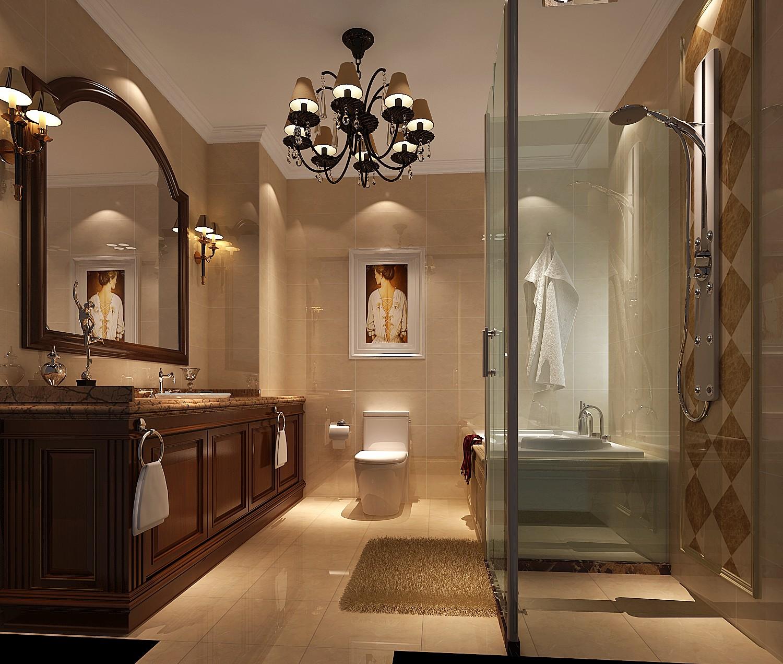 高度国际 御翠尚府 简欧 公寓 卫生间图片来自高度国际在高度国际-190平米欧式风格的分享