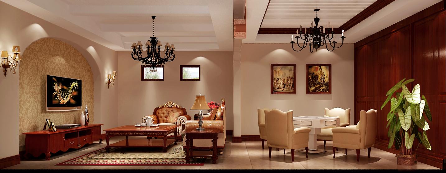 欧式 高度国际 龙山逸墅 客厅图片来自凌军在【龙山逸墅】——乡村风情的分享