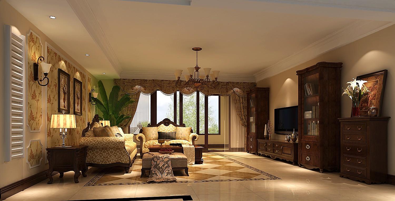 高度国际 御翠尚府 简欧 公寓 客厅图片来自高度国际在高度国际-190平米欧式风格的分享