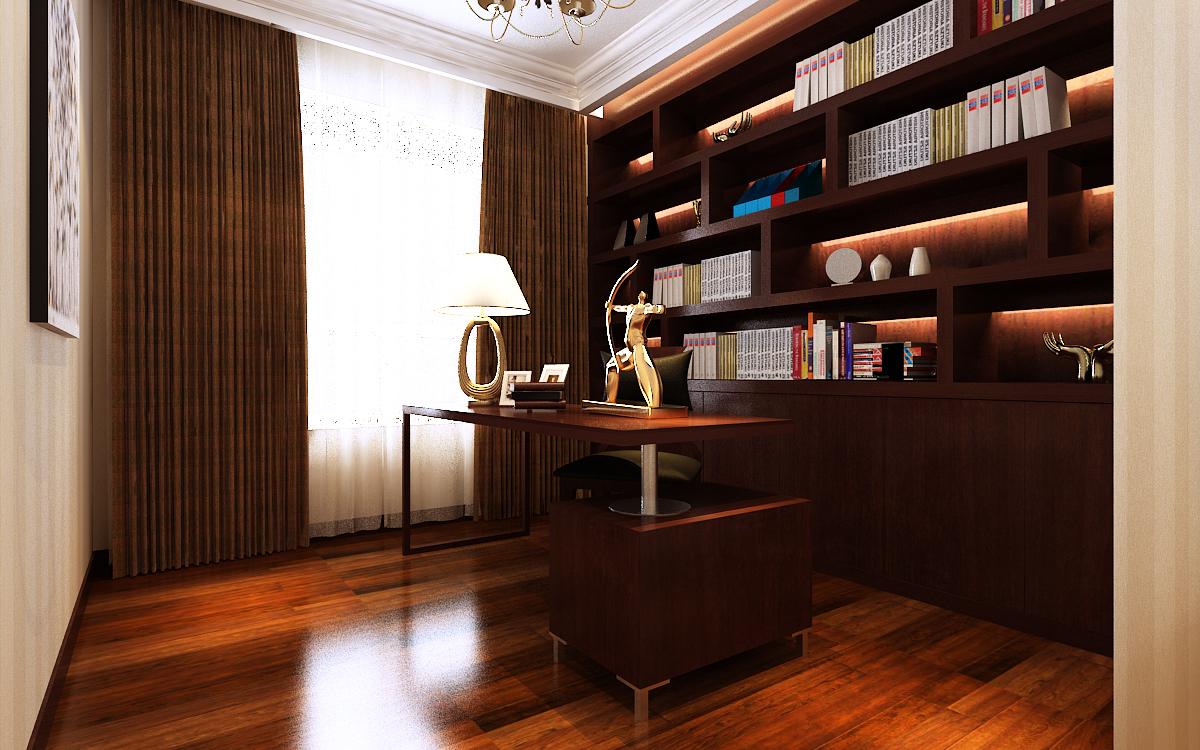简约 80后 白领 别墅 书房图片来自159xxxx8729在财经学院190平简约风的分享