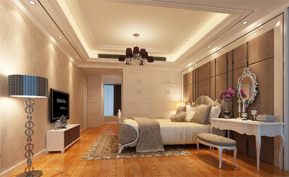 卧室图片来自深圳市浩天装饰在万象新天的分享