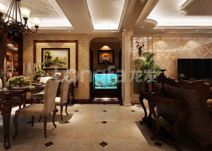 欧式 古典 四居 客厅 卧室 龙发装饰 其他图片来自龙发装饰集团西安分公司在欧式古典160天朗大兴郡的分享