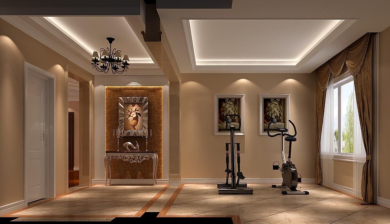 高度国际 御翠尚府 欧式 公寓 玄关图片来自高度国际在高度国际-第一居所的分享