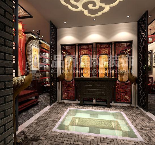 玄关图片来自石家庄品界国际装饰在会所设计的分享