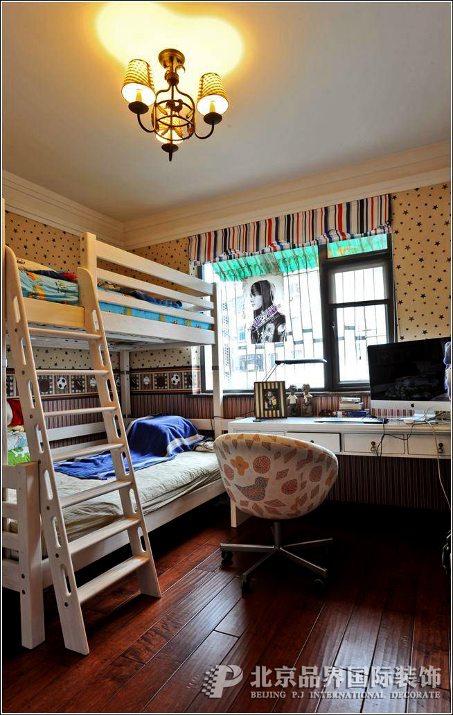 别墅 儿童房图片来自石家庄品界国际装饰在金苑世家现代风格实景照片的分享