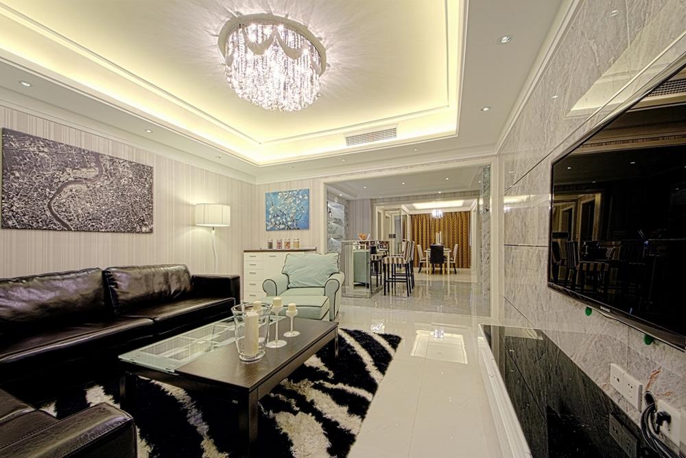 现代 三居 装修 设计 尚层装饰 客厅图片来自天津尚层装饰公司在生活,简约而不简单的分享