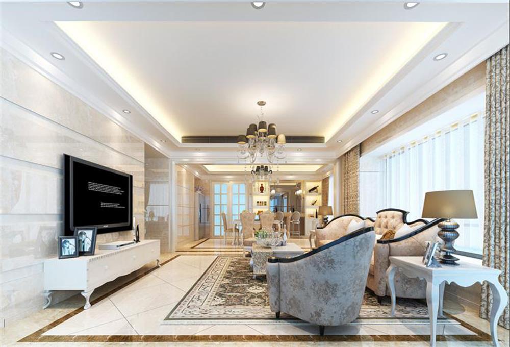客厅图片来自深圳市浩天装饰在美佳华首誉的分享