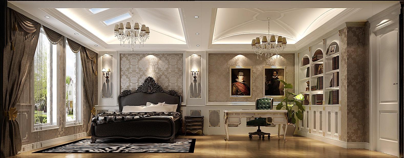高度国际 旭辉御府 法式 复式 卧室图片来自高度国际在法式的浪漫,完美的爱情的分享