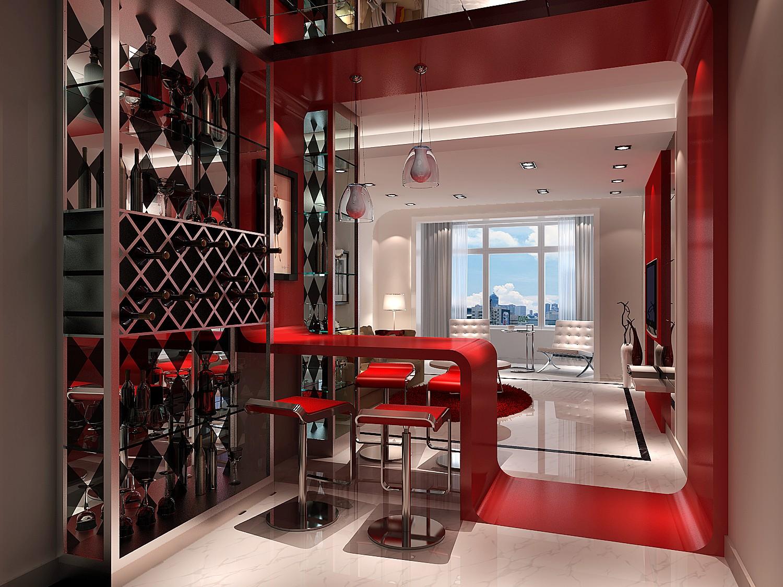 高度国际 中景江山赋 现代 公寓 餐厅图片来自高度国际在高度国际-家居强调功能性设计的分享
