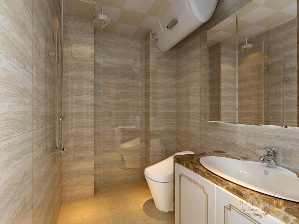 简约 城市人家 设计案例 效果图 卫生间图片来自太原城市人家装饰在御龙庭—128平米设计的分享