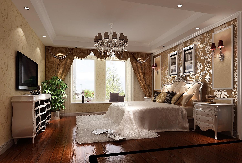 欧式 三居 白领 北京装修 高度国际 装修报价 卧室图片来自高度国际装饰华华在旭辉御府欧式设计的分享