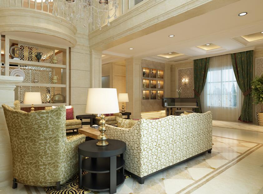 古典主义 现代主义 新古典 别墅 混搭 客厅 客厅图片来自尚层别墅设计在古典主义与现代主义的和谐碰撞的分享