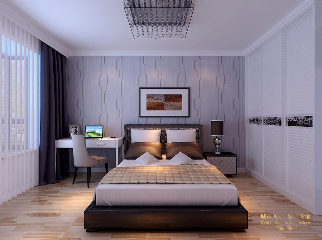 简约 城市人家 做好的家装 设计案例 风格 卧室图片来自太原城市人家装饰在丽泽苑—158设计方案的分享