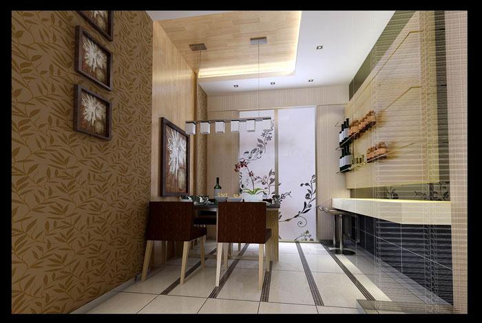 简约 普罗旺世 三居 温馨 小资 郑州业之峰 餐厅图片来自文金春在华而实的风格,简约而不同的格调的分享
