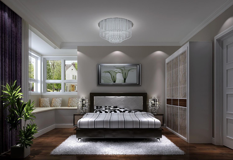 K2百合湾 高度国际 二居 现代 简约 公寓 白领 80后 高富帅 卧室图片来自北京高度国际装饰设计在K2百合湾现代公寓助您夜观世界杯的分享