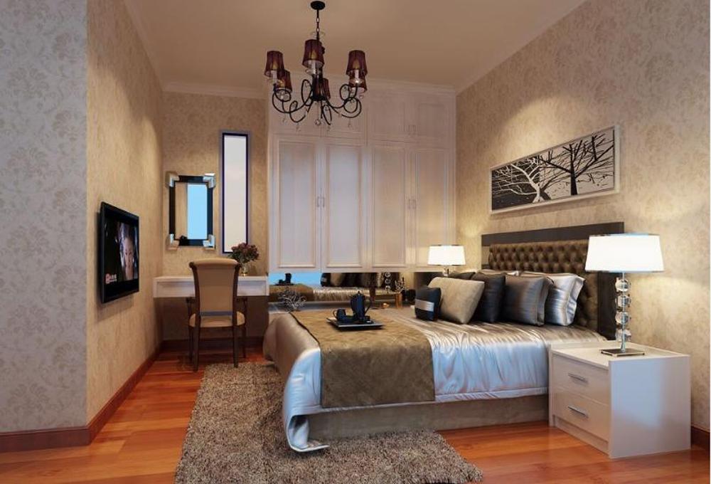卧室图片来自深圳市浩天装饰在天安龙园的分享