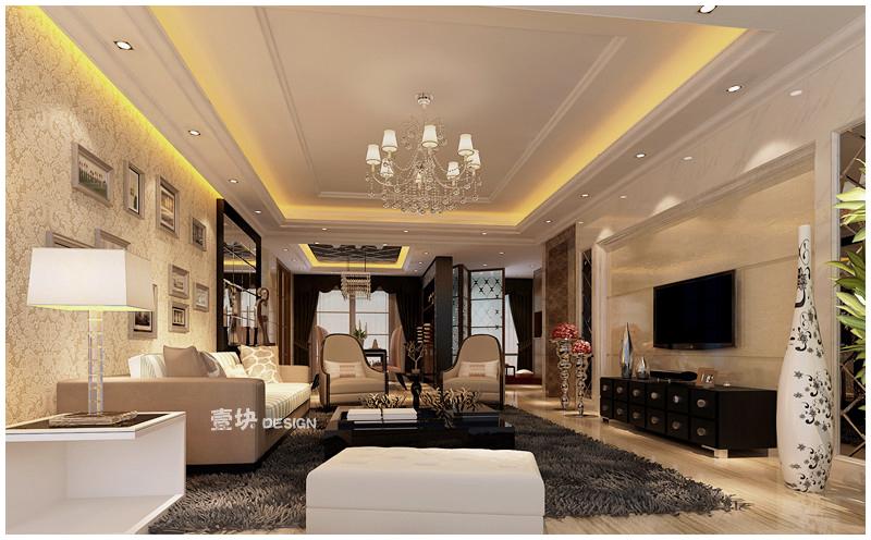 欧式 三居 白领 小资 客厅图片来自用户3227078344在三湘海尚——品的分享