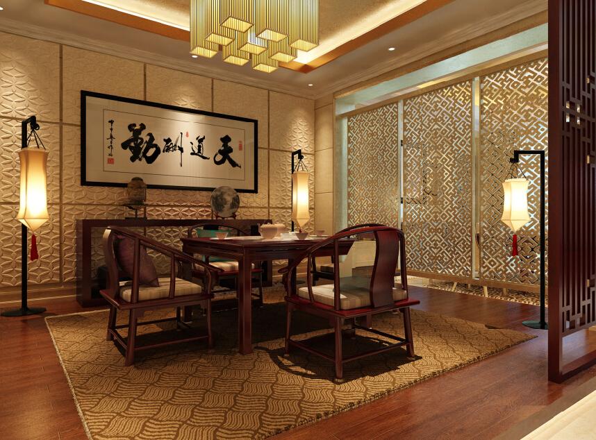 古典主义 现代主义 新古典 别墅 混搭 茶室 其他图片来自尚层别墅设计在古典主义与现代主义的和谐碰撞的分享