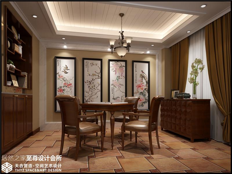 现代中式 别墅 其他图片来自武汉天合营造设计在长源假日港湾别墅现代中式风的分享