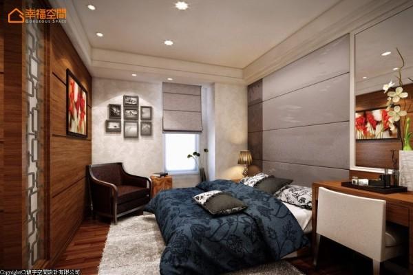 提供偶尔来玩的长辈舒适的居住空间,以饭店的概念规划简单的机能配置,同层楼的以起居室概念规划的书房可作为长辈使用的小客厅。 (此为3D合成示意图)