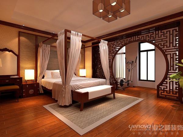 郑州市天地湾220平方别墅装修设计案例【主卧室房子设计效果图