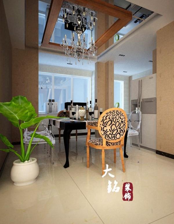 客厅是一个挑空空间,就做了整面墙的造型,这样一来将楼上楼下显得更连贯。视觉冲击力也更强。