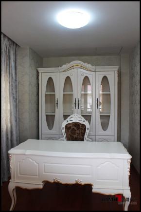 欧式 别墅 高富帅 名雕丹迪 别墅装饰 别墅设计 书房图片来自名雕丹迪在欧式风格--500平奢华别墅装修的分享