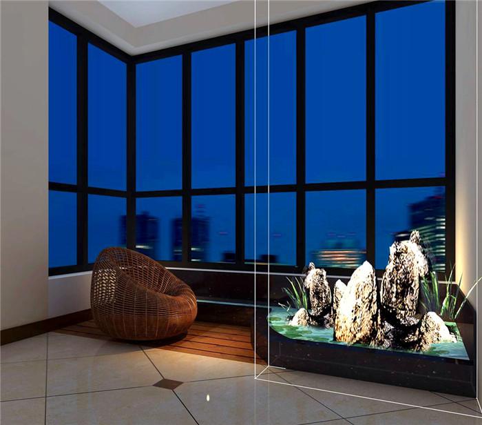 欧式 简约 白领 小资 阳台图片来自三金豆豆在美林河畔挑空复式简欧设计的分享