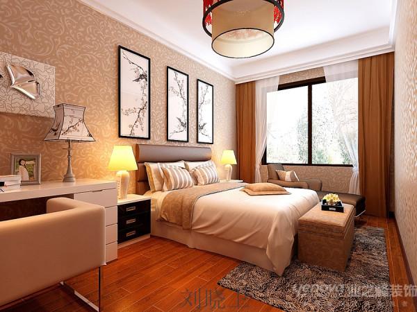 郑州市天地湾220平方别墅装修设计案例【次卧室房子设计效果图