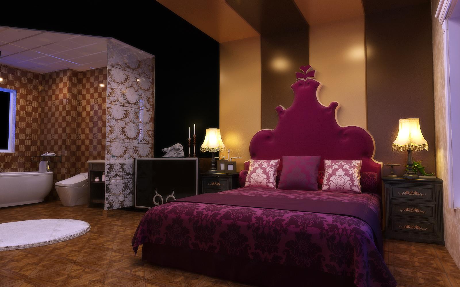 卧室图片来自设计师候元甲在新古典的分享