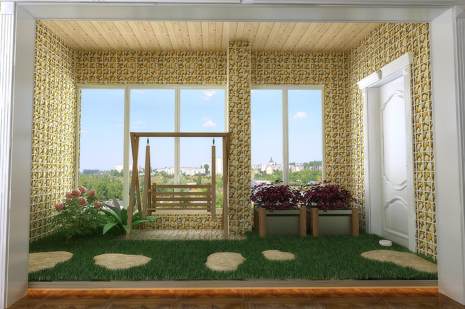 阳台图片来自设计师候元甲在新古典的分享