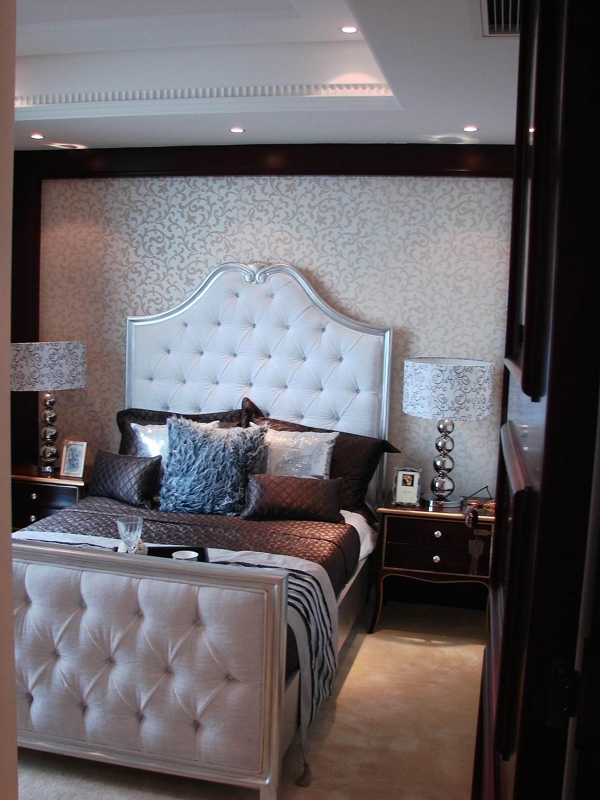 欧式 四室两厅 四居 欧式样板间 卧室图片来自超凡装饰季国华在典雅大气欧式风格样板间的分享