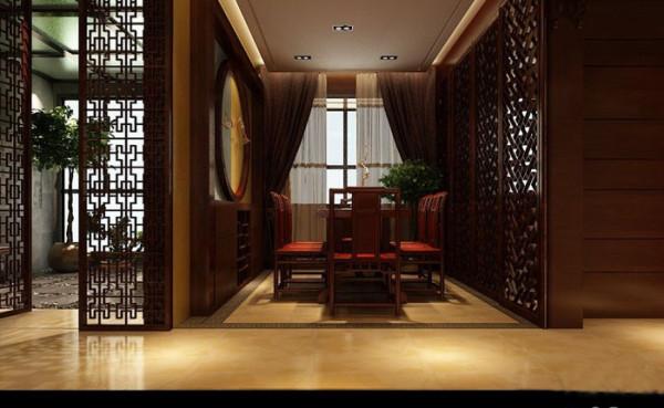 新中式风格是把中式元素与现代材质的巧妙兼柔,明清家具、窗棂、布艺床品相互辉映。