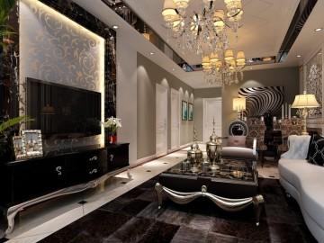 8.8万新古典欧式低调奢华的婚房