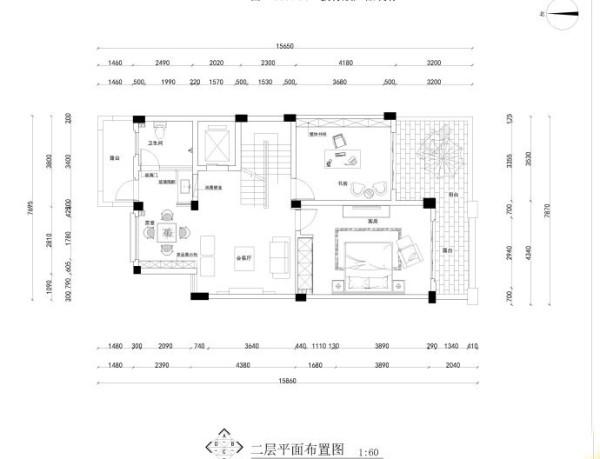 金融盛景豪庭别墅装修设计效果图【户型设计布局图】